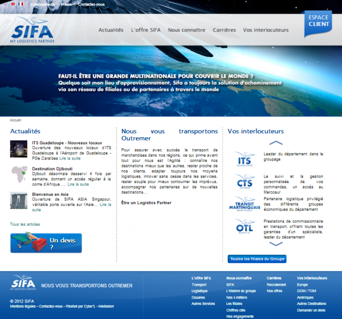 sifa transit e1395739184757 Audit internet dun groupe international