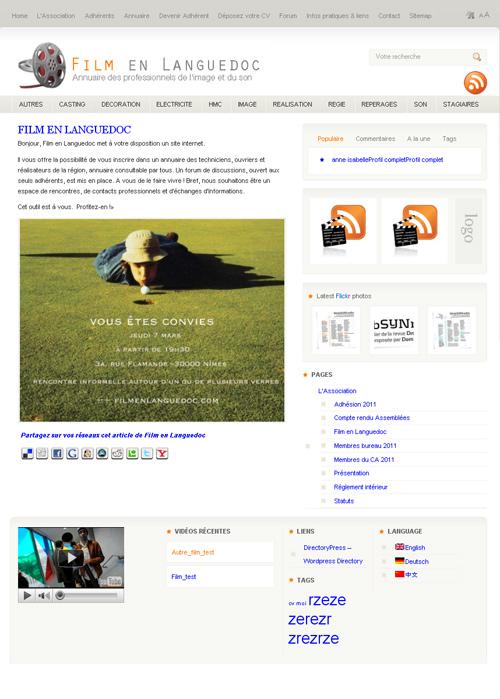 maquette film languedoc 500 Film en Languedoc