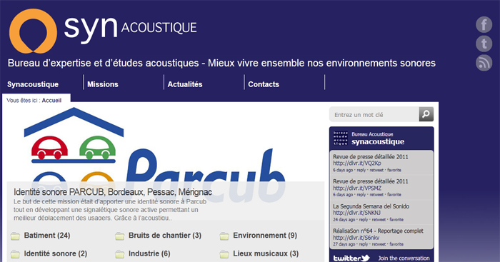 synacoustique accueil Synesthsie acoustique change de nom