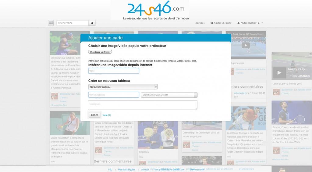 ajouter carte 1024x567 Naissance dun réseau social